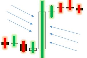 Pattern Dlouhá svíce 2