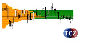 Market Profile, profilace trhu v MT4 - D profil