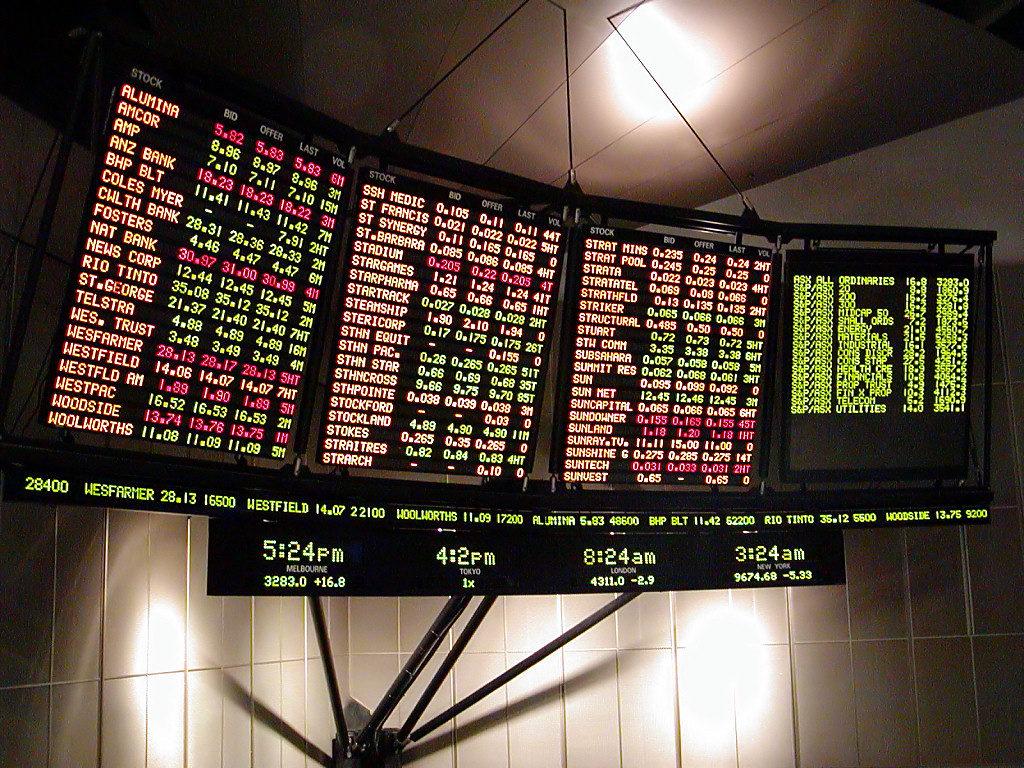 Stock market, burza
