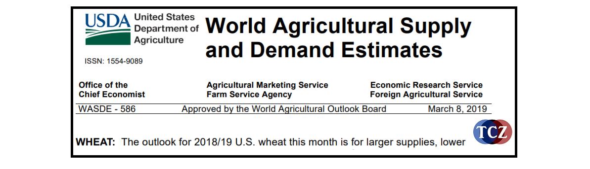 WASDE report vydávaný USDA pro komodity
