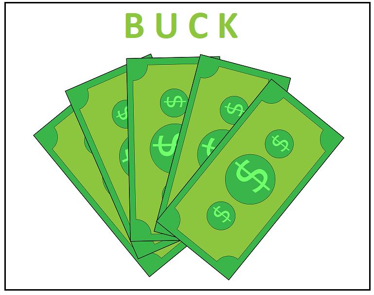 Buck je americký dolar