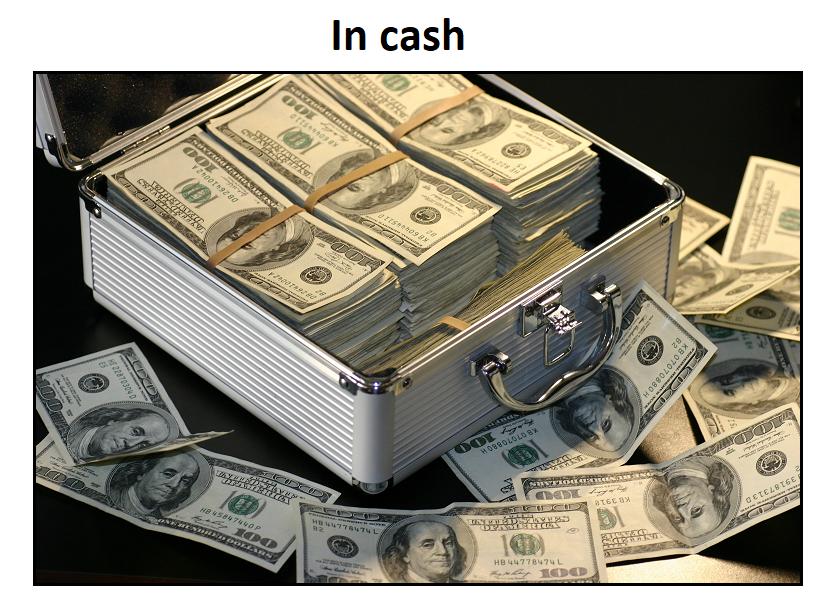 In cash v tradingu
