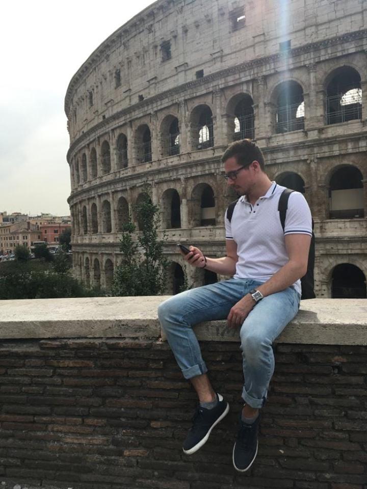 Koloseum trading v Římě