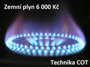 Zemní plyn COT profit