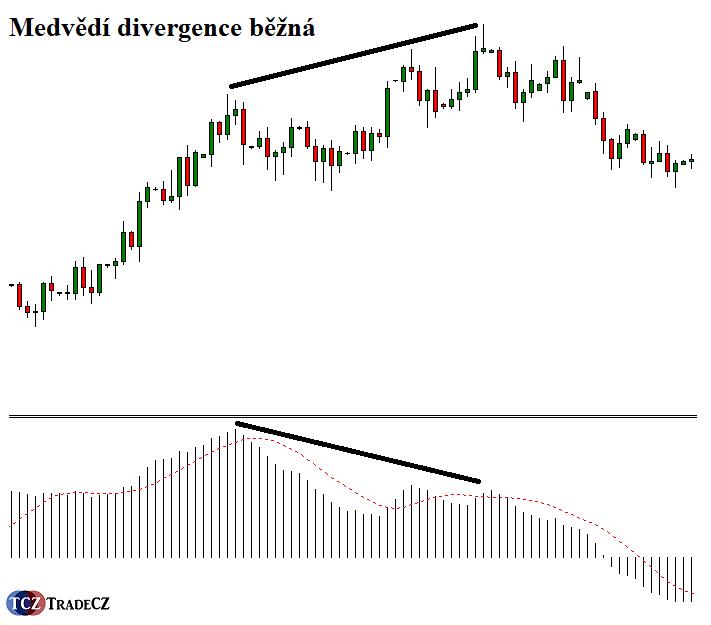 Běžná medvědí divergence