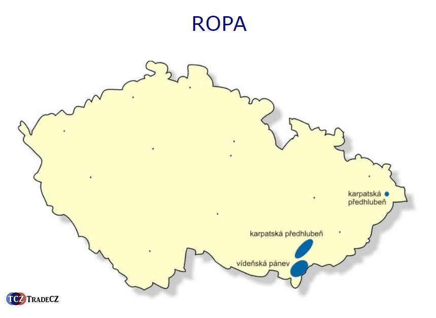 Ložiska ropy v ČR