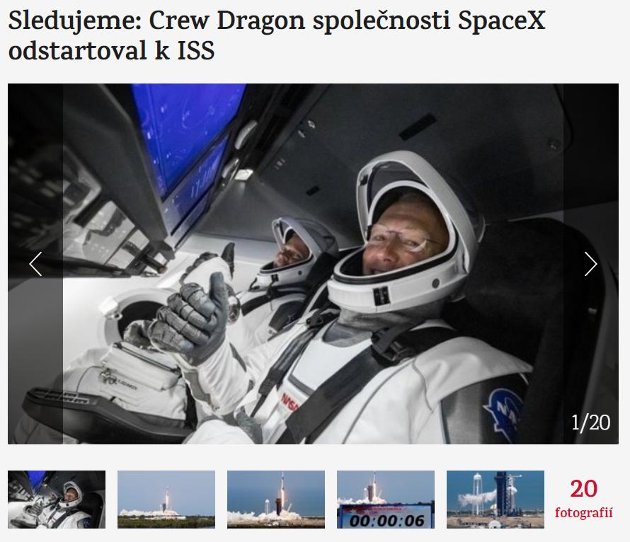 Musk Crew Dragon