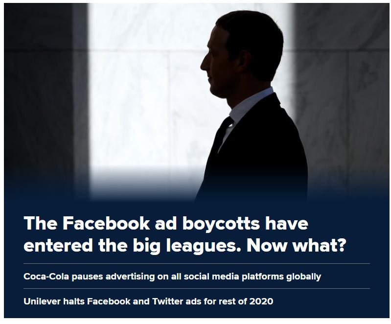 Facebook bojkot