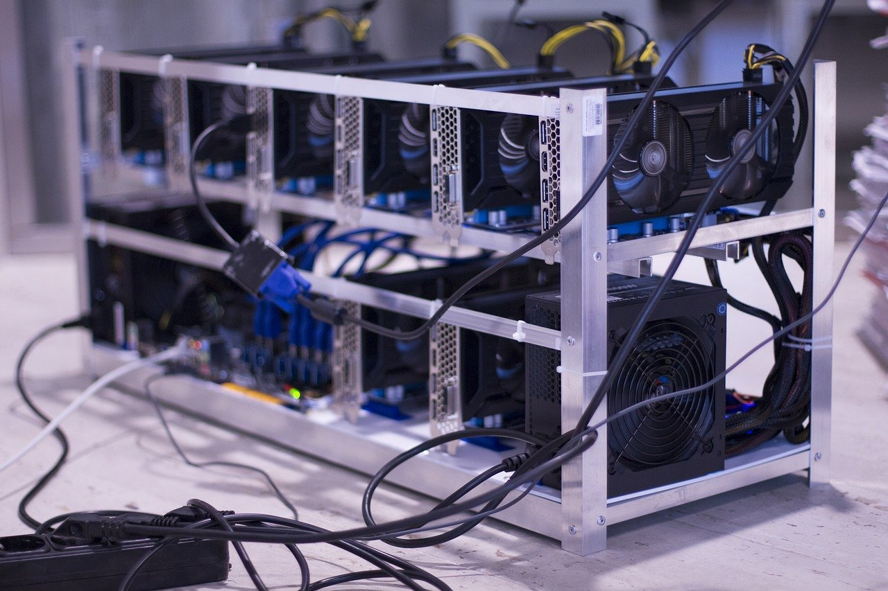 Těžba Bitcoinu mining