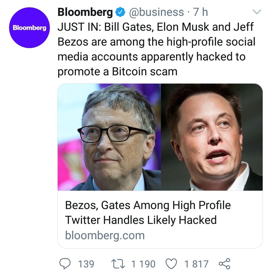 Twitter napaden