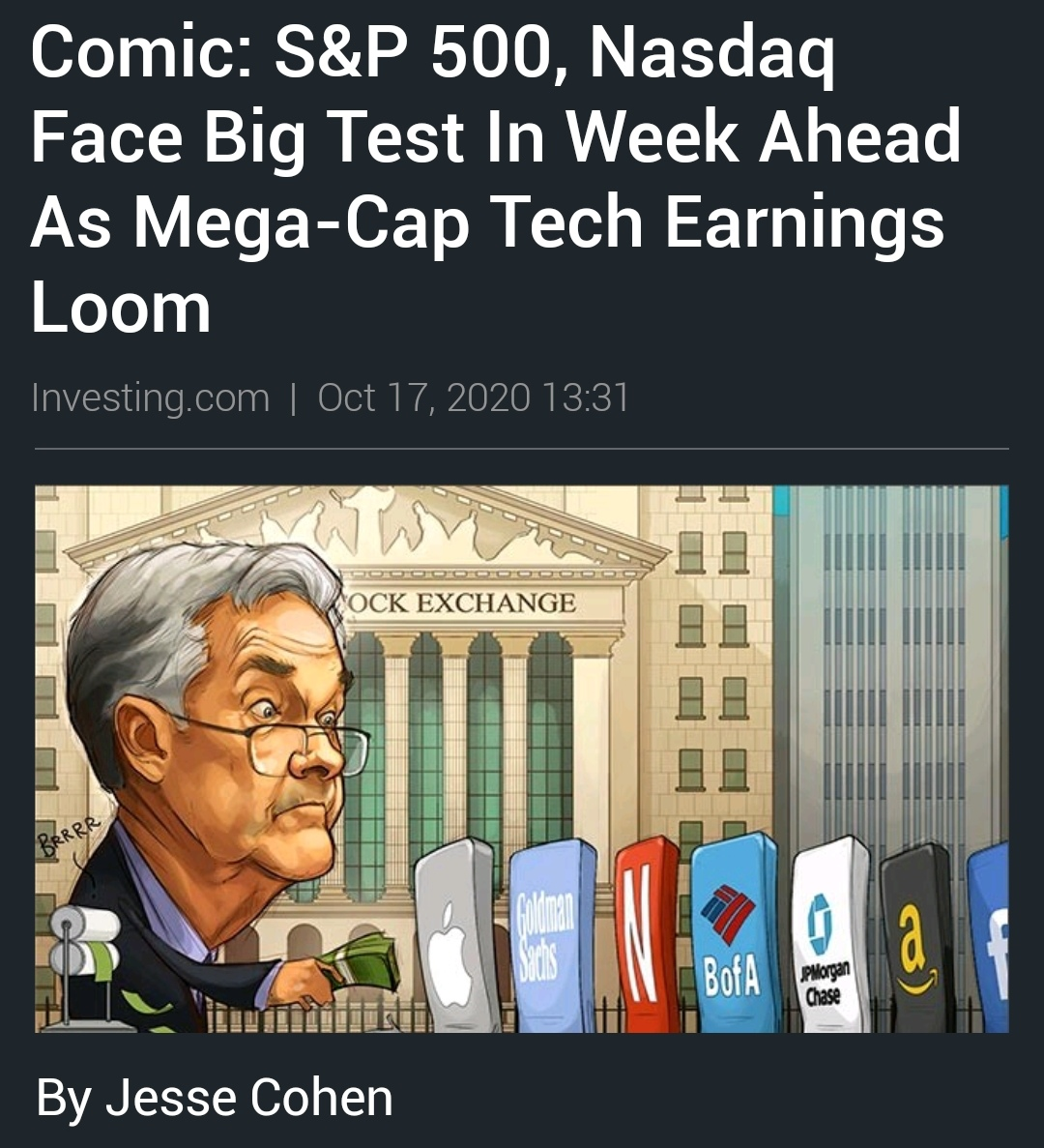 Earnings Nasdaq investing