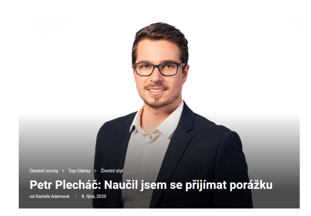 Rozhovor Petr Plecháč