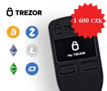 Trezor Bitcoin Cash kryptoměny