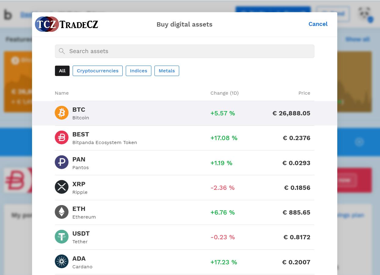 Bitpanda recenze bitcoin
