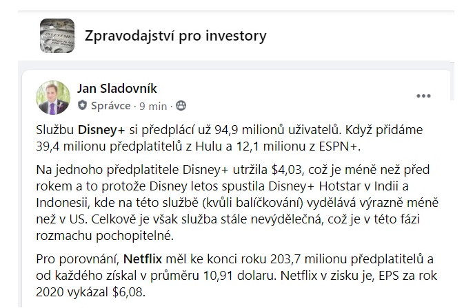 Analýza Disney