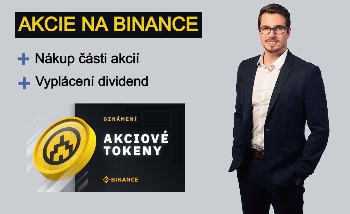 Akciové tokeny Binance