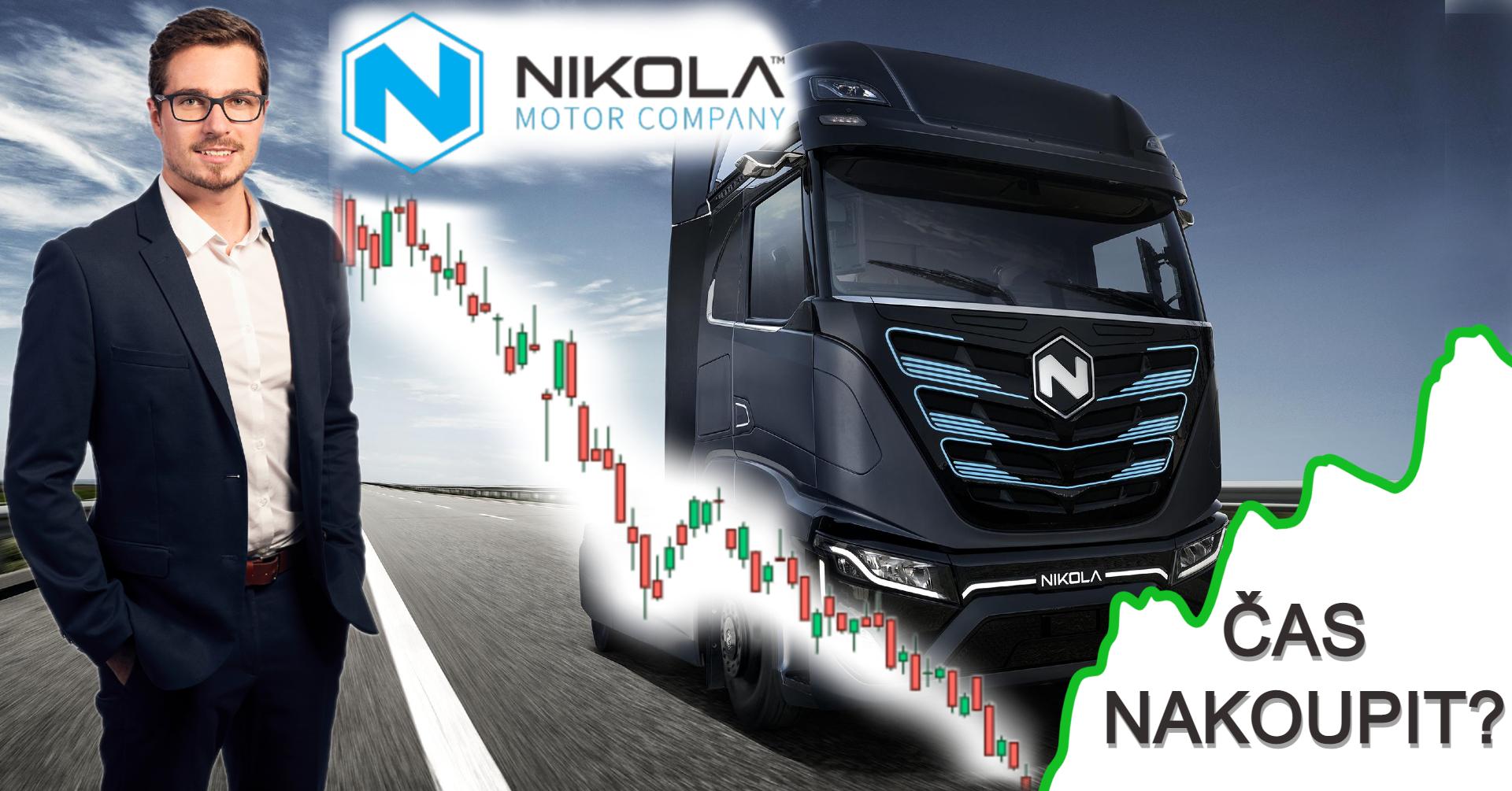 Analýza akcie Nikola