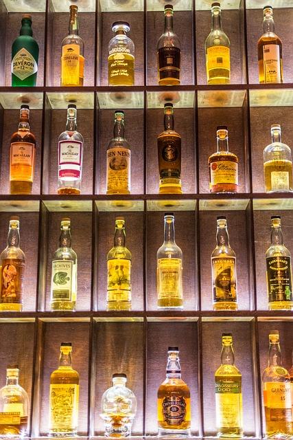 Skladování whisky