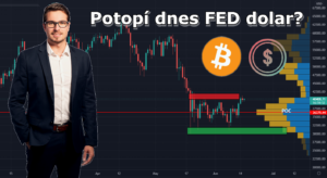 Technický pohled na Bitcoin a akciový index SP500 - souvislosti, Fed, inflace
