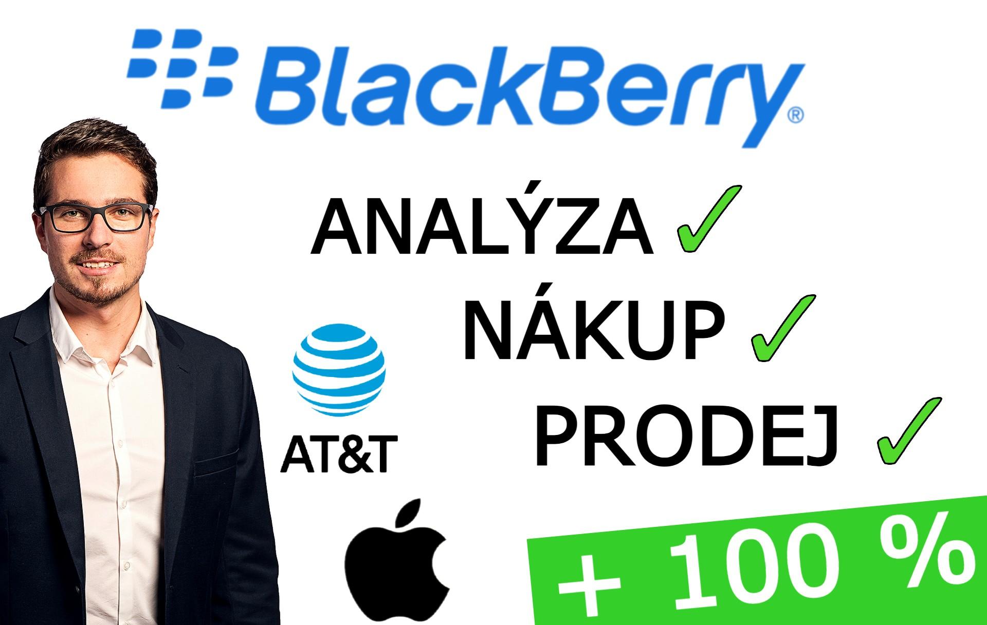 analýza BlackBerry akcie
