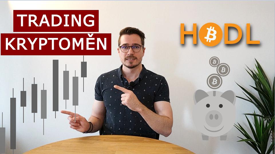 Trading kryptoměn vs. HODL