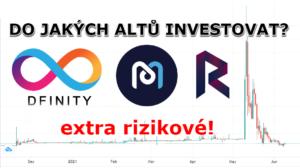 Do jakých kryptoměn se nyní vyplatí investovat? Analýza DFINITY (ICP), MdeX a Revain