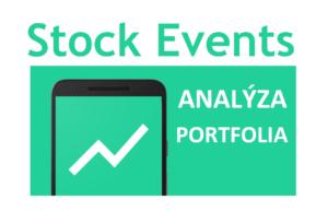 Recenze STOCK EVENTS – portfolio tracker, aplikace pro analýzu nejen akciového portfolia
