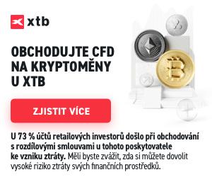 XTB kryptoměny