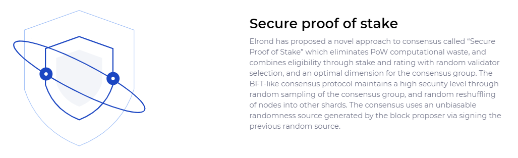 Proof of stake elrond