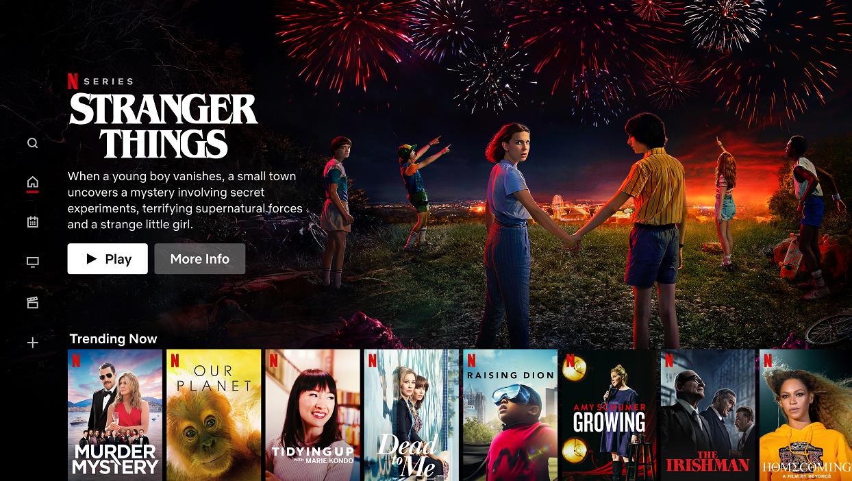 Netflix produkty