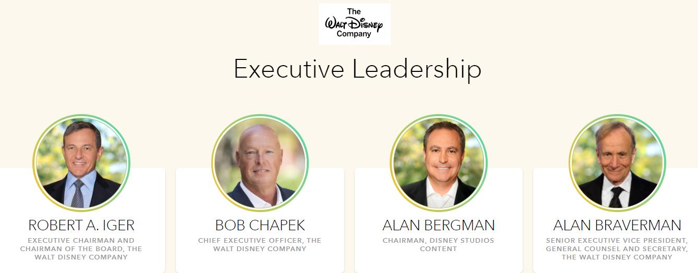 Vedení Disney
