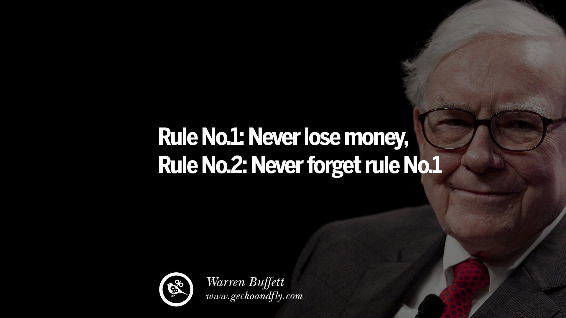 Citáty Warrena Buffetta