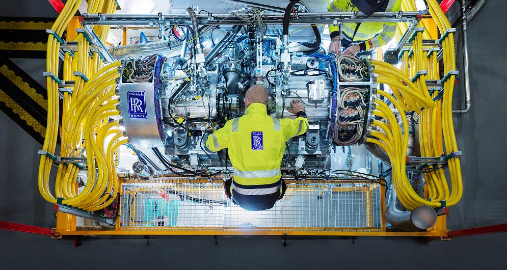 Rolls-Royce motory akcie