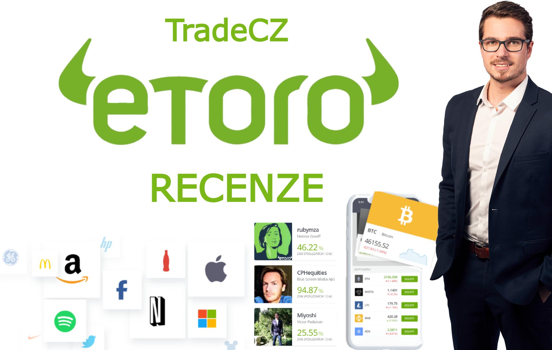 eToro broker recenze tradecz