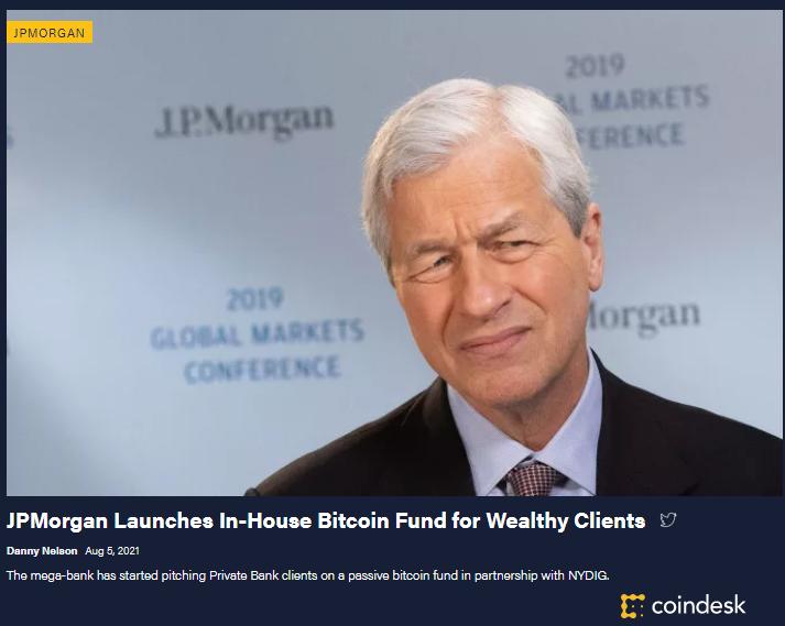 JPMorgan a Bitcoin
