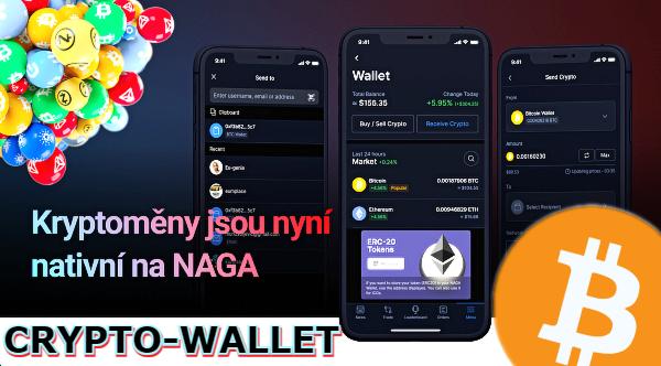 krypto wallet NAGA