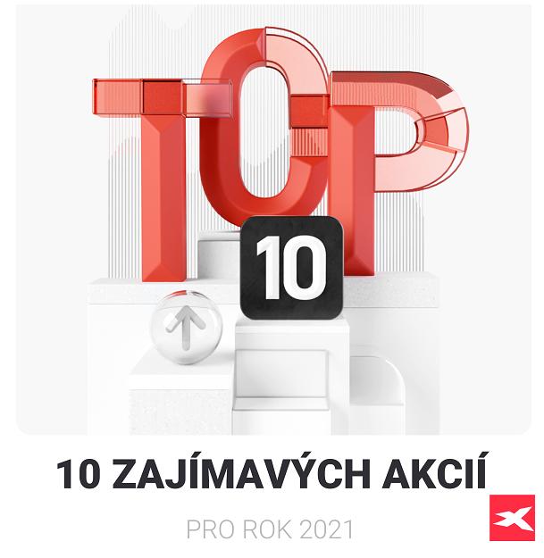 TOP 10 akcií 2021