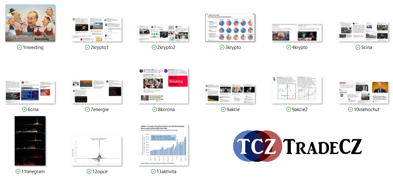 zprávy z trhu TradeCZ