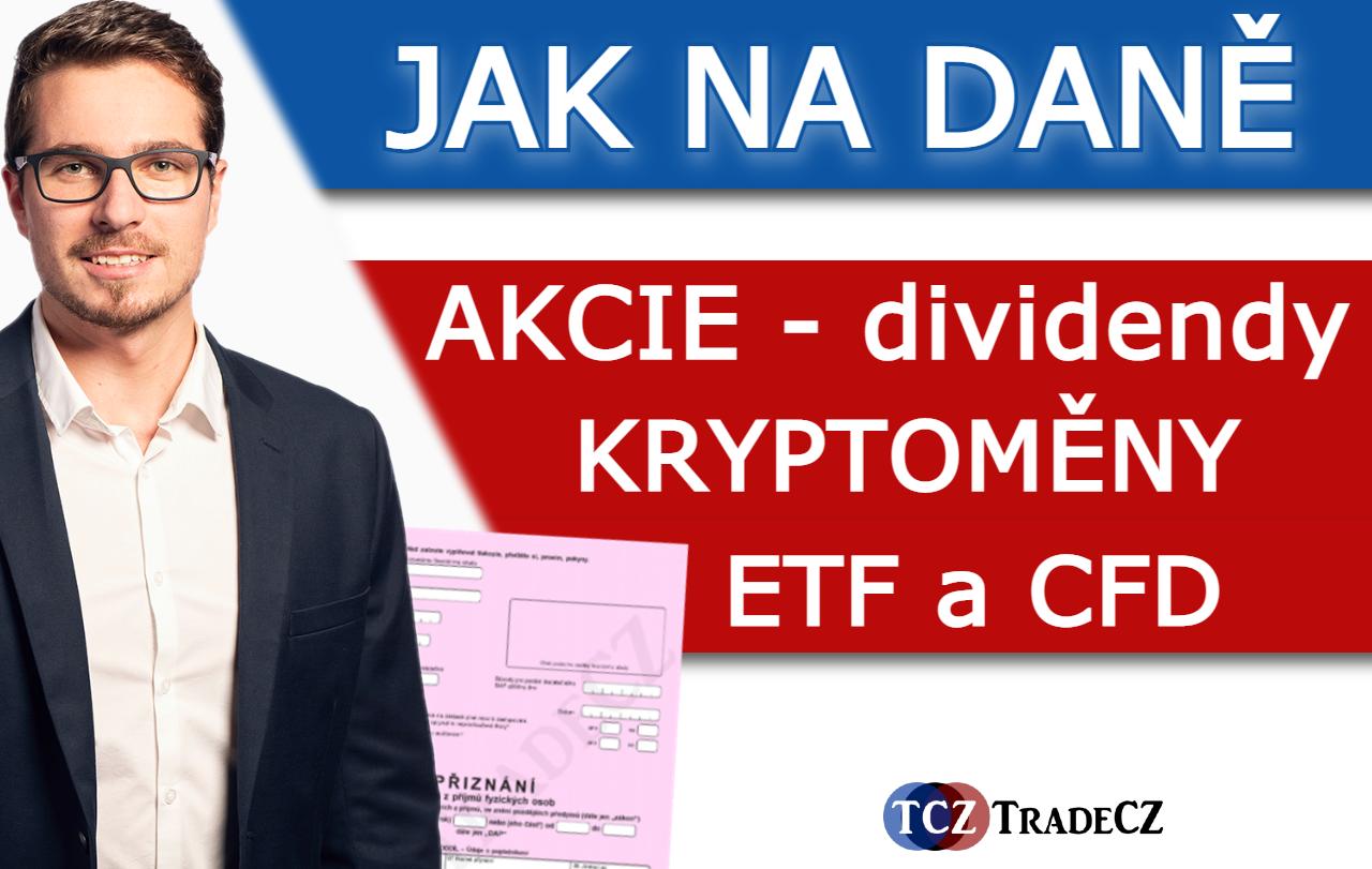 trading a daně 2021 2022