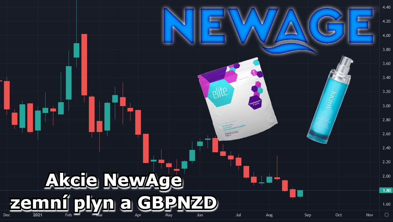 NewAge akcie analýza